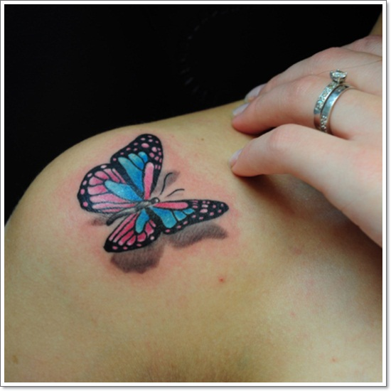 878f8a449 Cool Ideas for Making a Butterfly Tattoo Feel More like Your Own