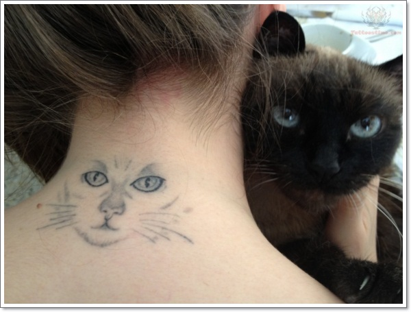 awesome-cat-tattoo-on-nape