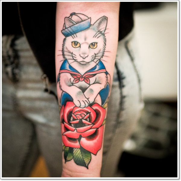 cat tattoos hh