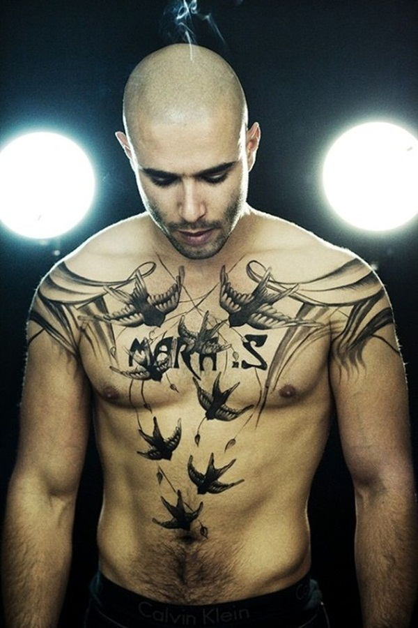 30 Best Chest Tattoo