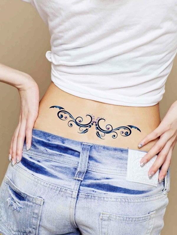 motivation tribal tattoo meaning Girls Waist Best for 30 Tattoos
