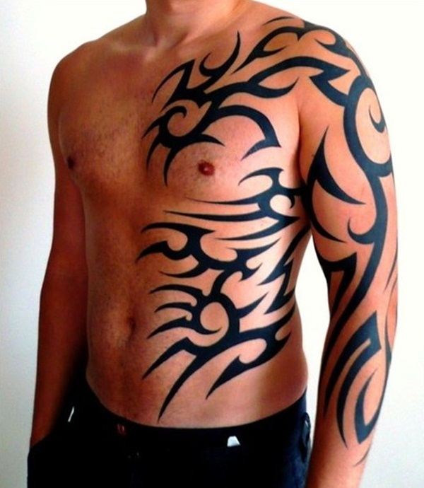 30 best tribal tattoos for men. Black Bedroom Furniture Sets. Home Design Ideas