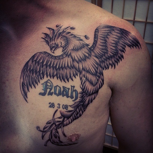 30 Best Phoenix Tattoos For Men