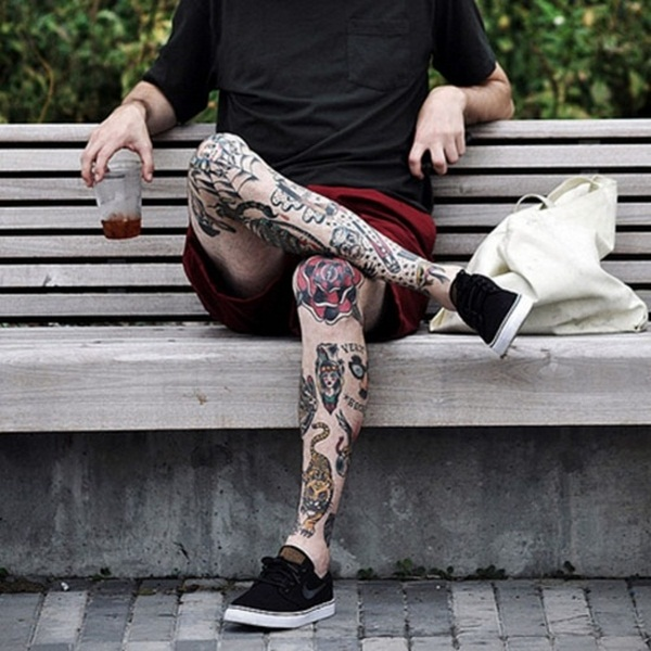 Tattoo For Man In Leg: 30 Sexy Leg Tattoo Designs For Women
