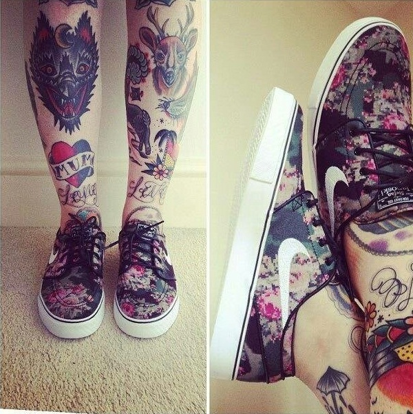 Tattoo Designs Legs: 30 Sexy Leg Tattoo Designs For Women