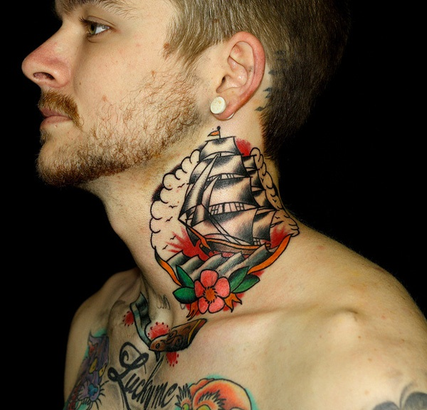 neck tattoo (2)