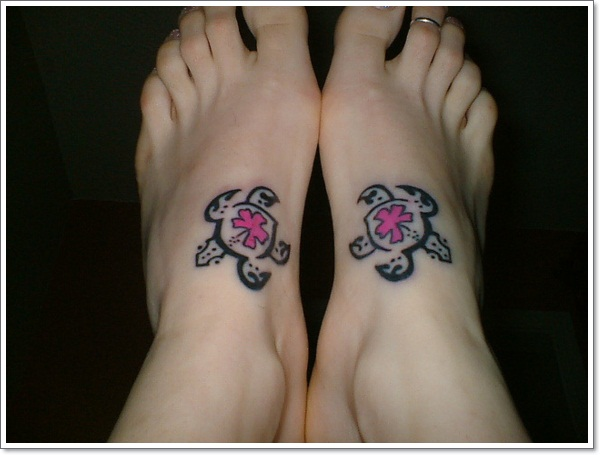 small-turtle-tattoos ideas