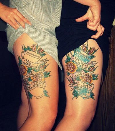 30 thigh tattoos that are sure to get attention for Getting thigh tattoo