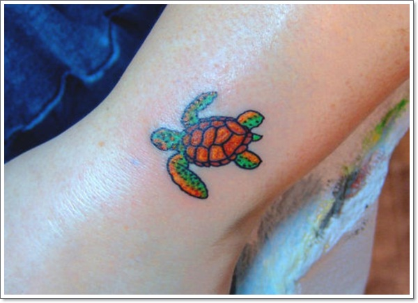 125 Unique Turtle Tattoos with Meanings and Symbolisms ...