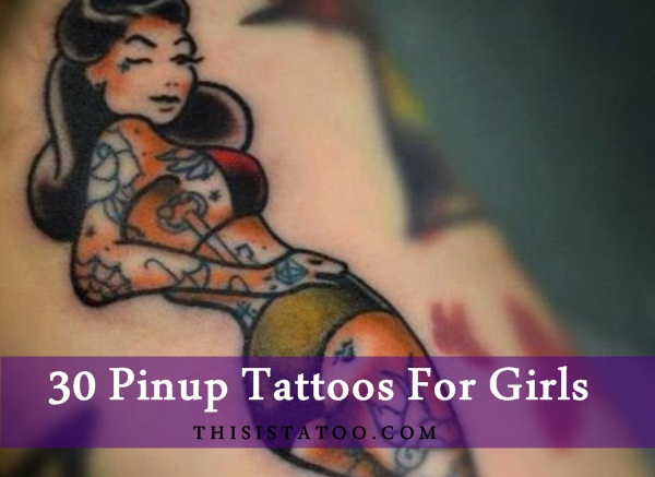 30 Pinup Tattoos For Girls
