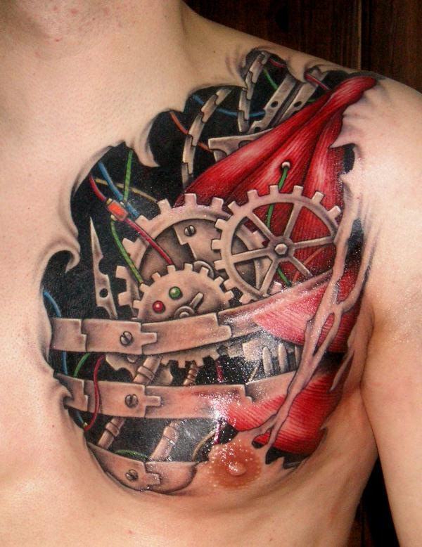 30 Amazing 3d Tattoo Designs In Vogue