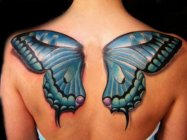 Butterfly tattoos014