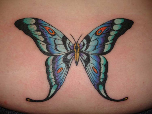 Butterfly tattoos017