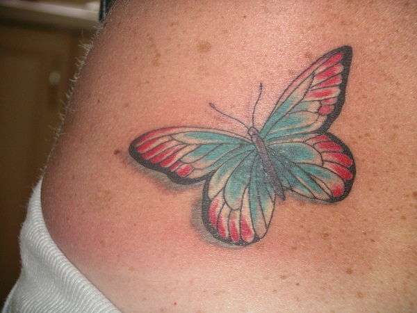 Butterfly tattoos026