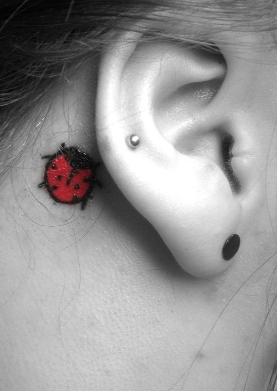Ear Tattoo (13)