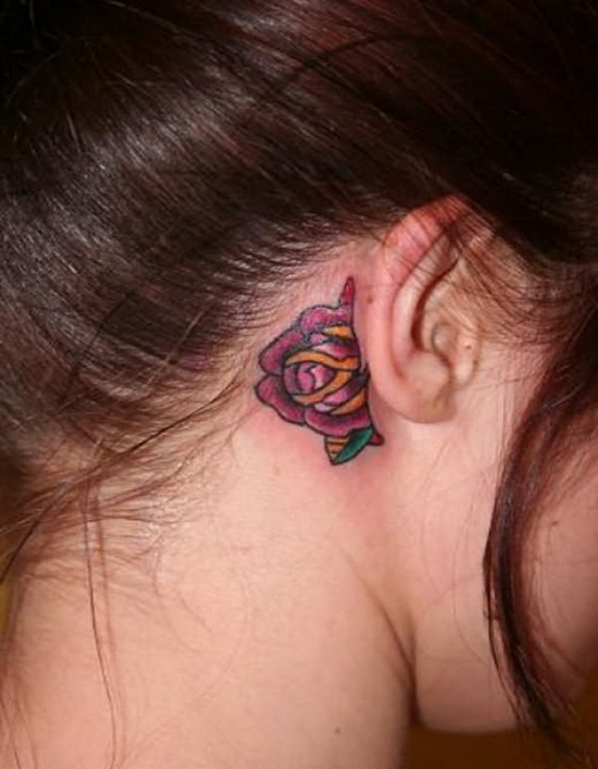 Ear Tattoo (28)