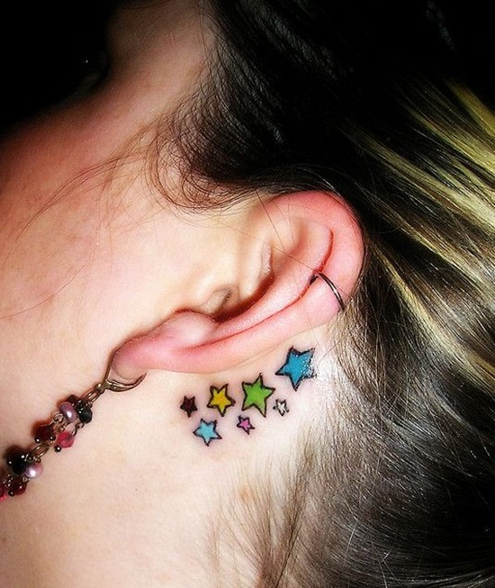 Ear Tattoo (29)