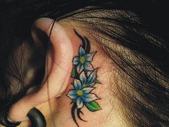 Ear Tattoo (30)
