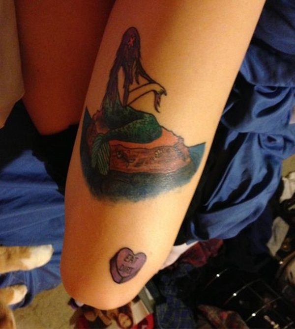 Mermaid tattoos025