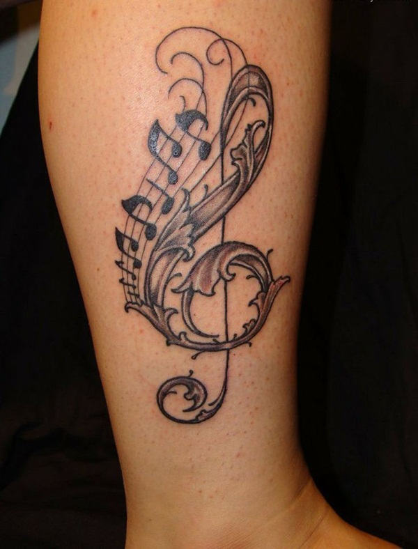 Music tattoos006
