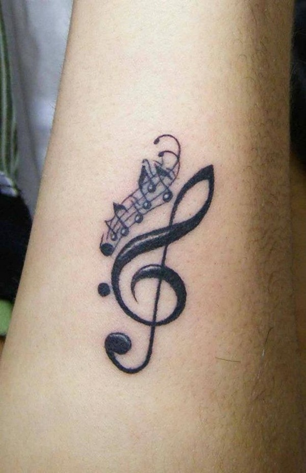 30 Music Tattoo Ideas For Girls and Boys