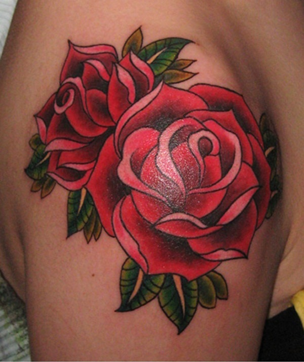 Rose tattoos011