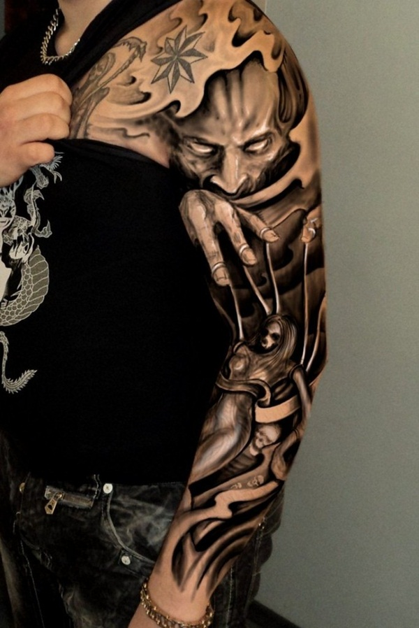 30 best sleeve tattoo designs for girls and boys for Male sleeve tattoo ideas