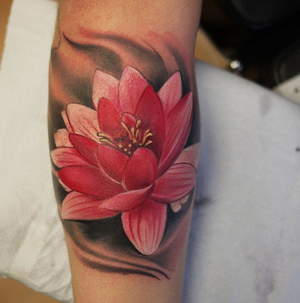 Floral Tattoo Images Designs: 30 Awesome Lotus Flower Tattoo Design