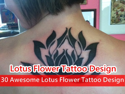 2f8e0651215a9 30 Awesome Lotus Flower Tattoo Design