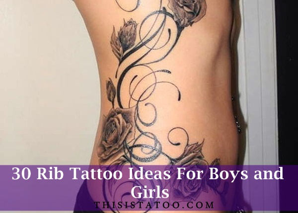 82dcb15f0 30 Rib Tattoo Ideas For Boys and Girls