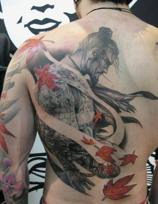 Samurai Tattoos 24