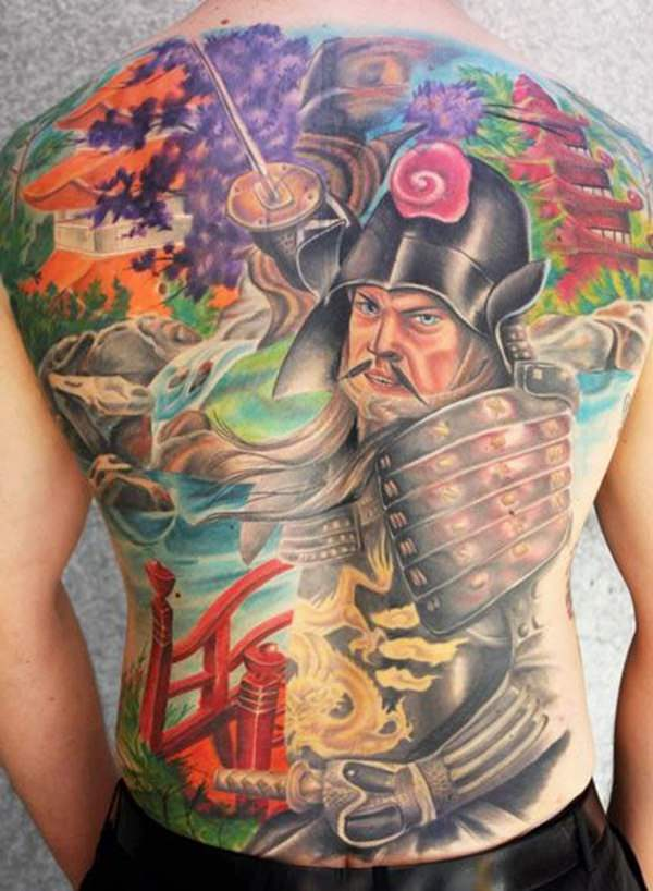 Samurai Tattoos 30
