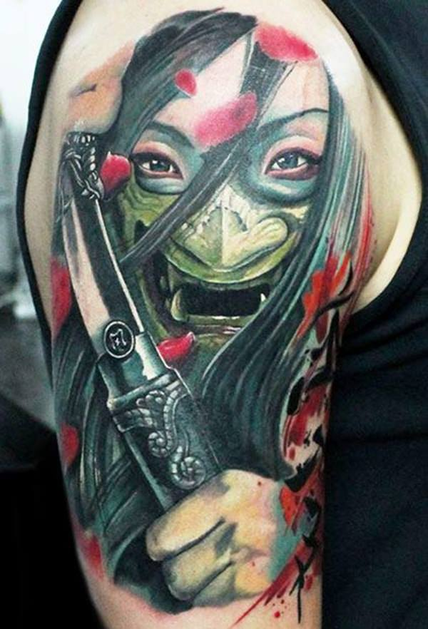 Samurai Tattoos 322