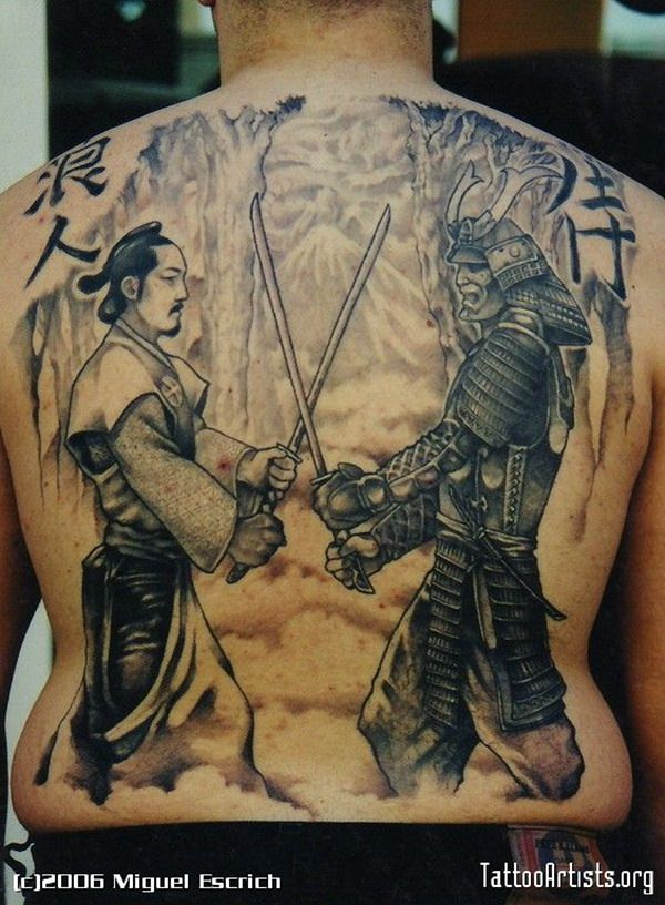 Samurai Tattoos 35