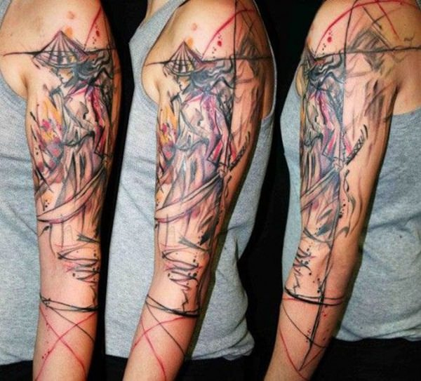 Samurai Tattoos 38