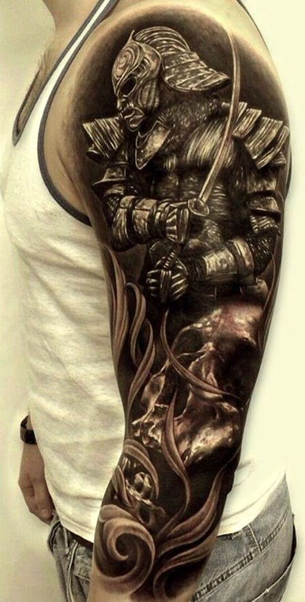 65 shogun inspired samurai tattoos pictures. Black Bedroom Furniture Sets. Home Design Ideas
