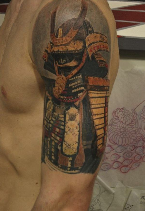 Samurai Tattoos 40