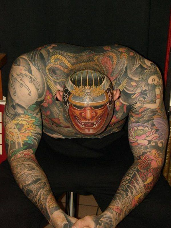 Samurai Tattoos 41