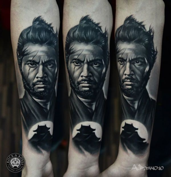 Samurai Tattoos 49