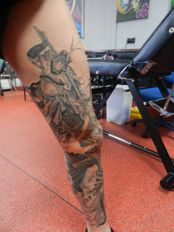Samurai Tattoos 53