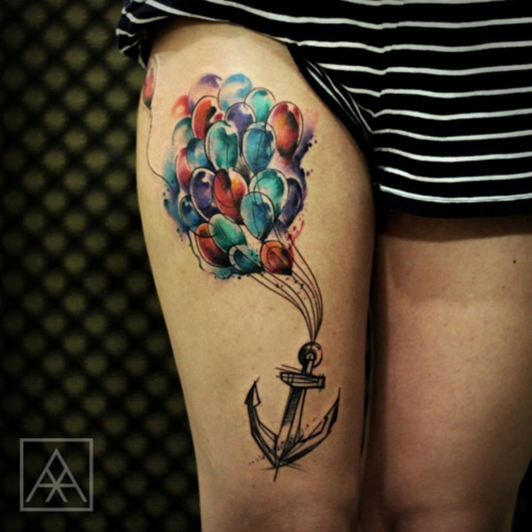 anchor tattoo designs (100)