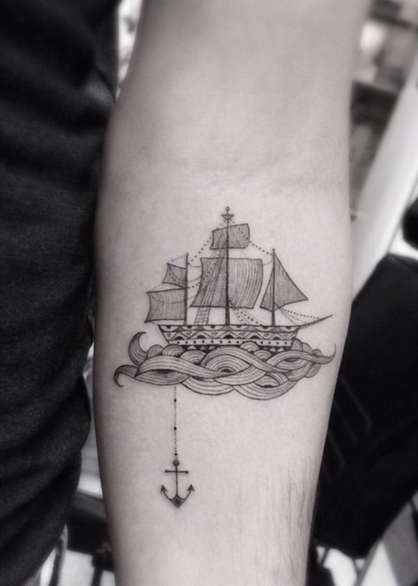 anchor tattoo designs (12)