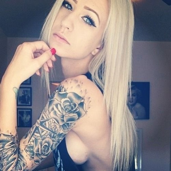 arm tattoo designs for girls (101)