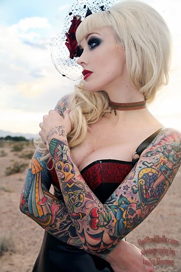 arm tattoo designs for girls (19)
