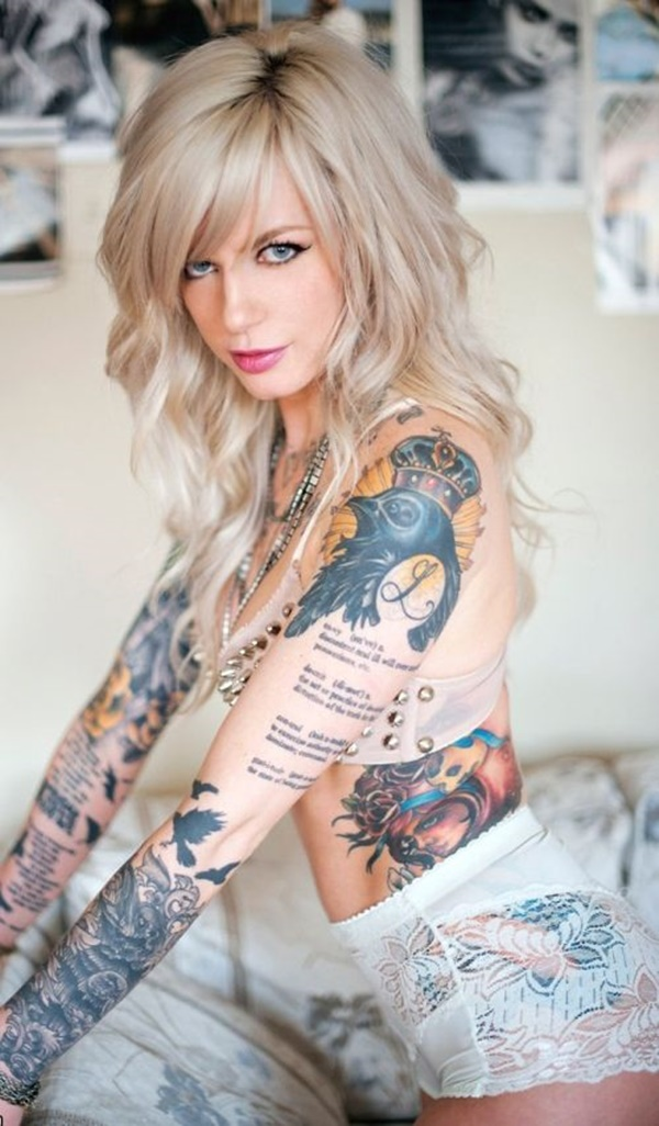 arm tattoo designs for girls (40)