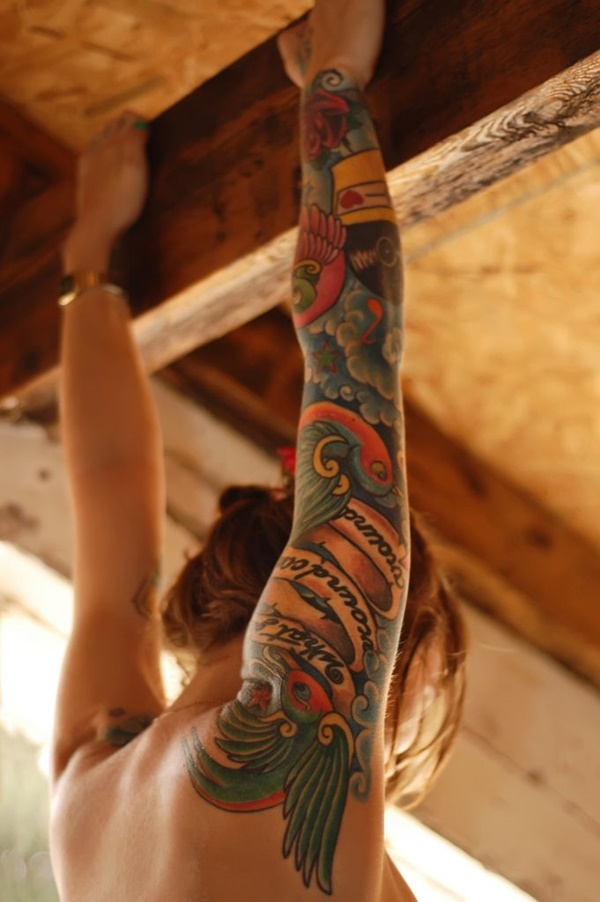 arm tattoo designs for girls (44)