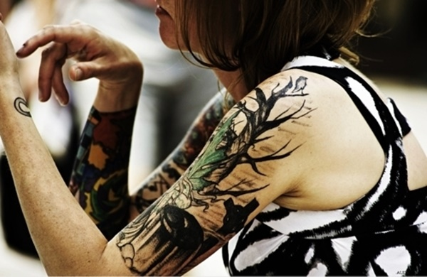 arm tattoo designs for girls (61)