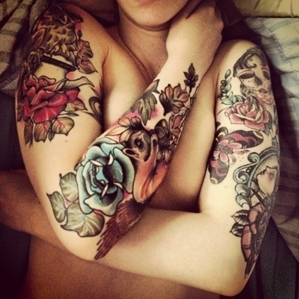 arm tattoo designs for girls (76)