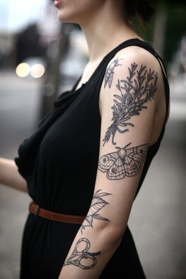 arm tattoo designs for girls (81)