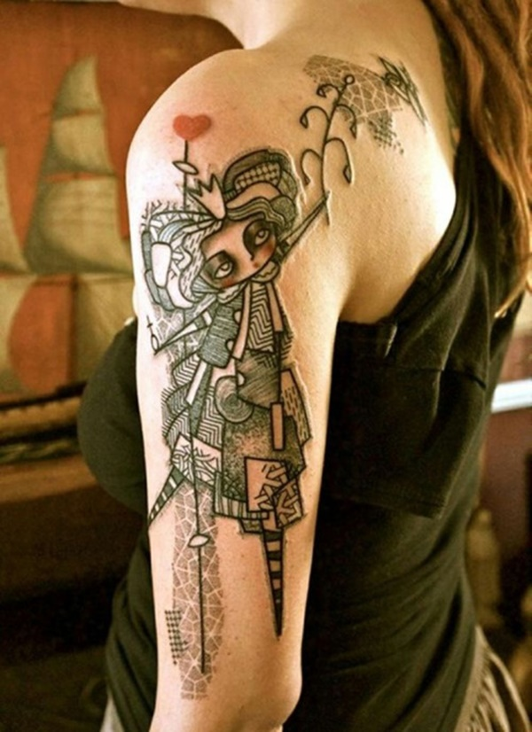 arm tattoo designs for girls (86)